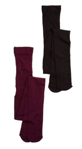 Of Hue 6007 bordeaux Pack Womens Collant 2 Sz opaco Top a nero profondo contrasto 1 1rrEwAqRn