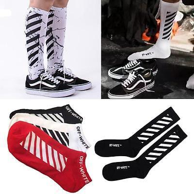 KPOP Off-White C/O Virgil Abloh Stripe Sock Vetements Gosha Rubchinskiy Stocking