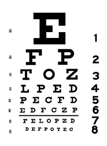 Image Is Loading Framed Print Eye Chart Picture Poster Art Optician