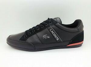 NEW-Lacoste-Chaymon-319-4-Men-039-s-Fashion-Casual-Shoes-Sneakers-Black-Red