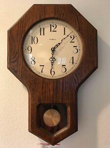 Image Is Loading Howard Miller Schoolhouse Wall Clock Model 613 238