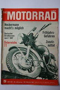 uralte-Zeitschrift-Das-Motorrad-Nr-5-1967-TOP