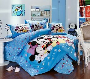 Disney Minnie Mouse 8pcs Comforter Set In A Bag Twin Full