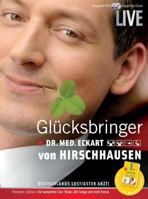 Glücksbringer-Live - mit Dr.Med. Eckart von Hirschhausen !! Wie Nagelneu !!