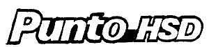 "SIGLA POSTERIORE FIAT /""PUNTO HSD/"" 93/>  320//HSD"