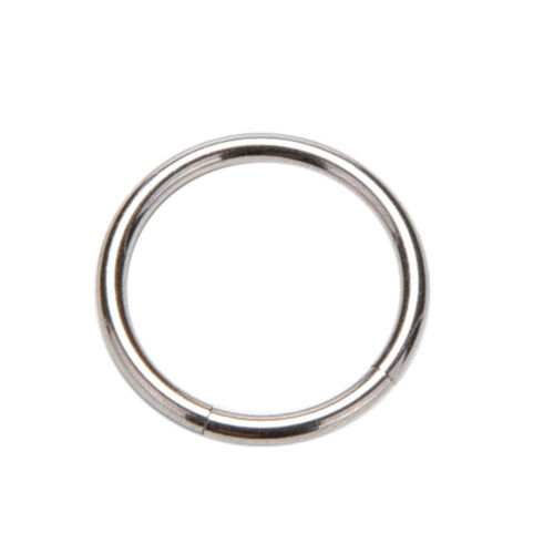 2//3x Charm Segment Ring Titanium Septum Clicker Piercing Nose Lip Ear RingRASk