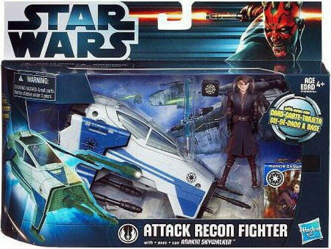 Attack Recon Fighter with Anakin Skywalker Action Figure Set
