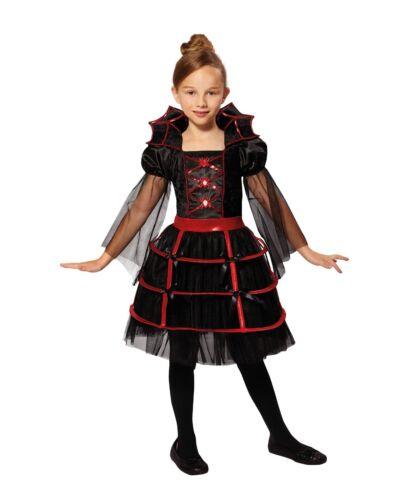 Enfant Vampire Cutie Costume Halloween Robe fantaisie 5-11 ans