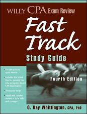 Wiley CPA Exam Review Fast Track Study Guide (Wiley Cpa Examination Re-ExLibrary
