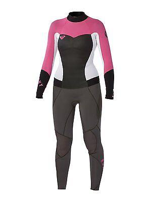Roxy Syncro 3/2 Back Zip Fullsuit women's 2 4 6 8 10 10T 12 14 wetsuit new NWT