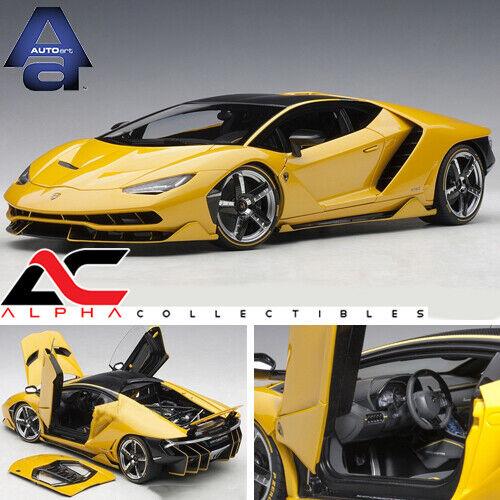 AUTOART 79115 1 18 LAMBORGHINI CENTENARIO (ORION giallo) SUPERCAR
