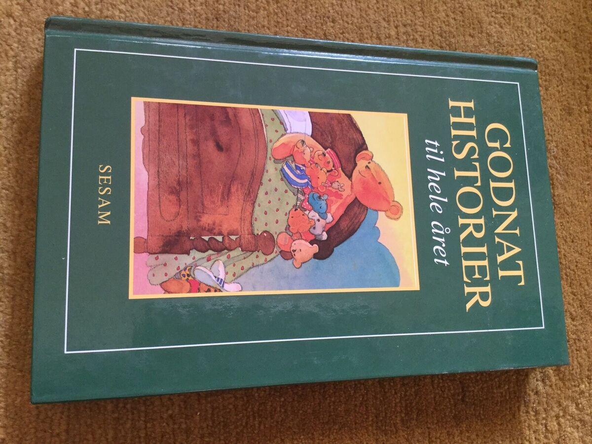 Godnathistorier til hele året, Sesam, Nsn. Fin bog. Koste