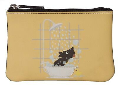 Puppy Dogs Flapover Purse by Mala Leather Ladies soft leather /& giftbag 3310