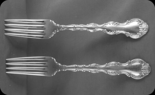 "2 Birks Louis de France 7/"" Luncheon Forks TWO 3 sets of Two avail"