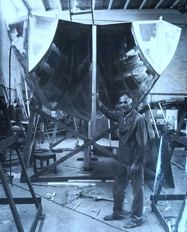 Jørn Utzon konstruktion sejlbåd 35 fod