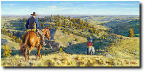 """""""Head five miles that way,... then go five miles that by Bob Coronato - Western"""
