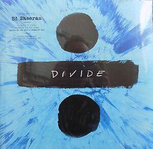 ED-SHEERAN-LP-x-2-Divide-180-gram-Vinyl-LP-amp-Digital-Download-NEW-Sealed