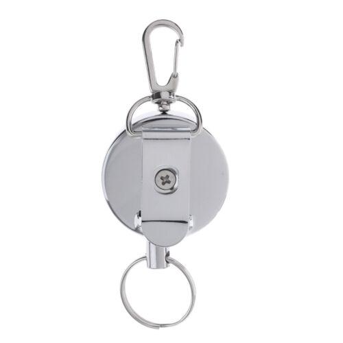 Abzeichen Reel Retractable  Skipass ID Kartenhalter