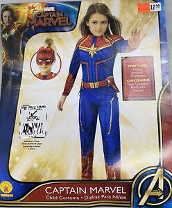 Girls Captain Marvel Costume Marvel Comics Size Large 12 14 883028376681 Ebay Find great deals on ebay for captain marvel costume. ebay
