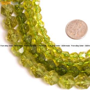 Faceted-Peridot-Gemstone-Crystal-Quartz-Beads-For-Cambay-Jewery-Making-15-034-Dyed