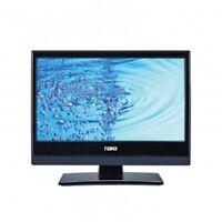 Portable 13 Naxa Hdtv Led Tv 12 Volt Ac/dc Car Cord/kit And Dvd Player