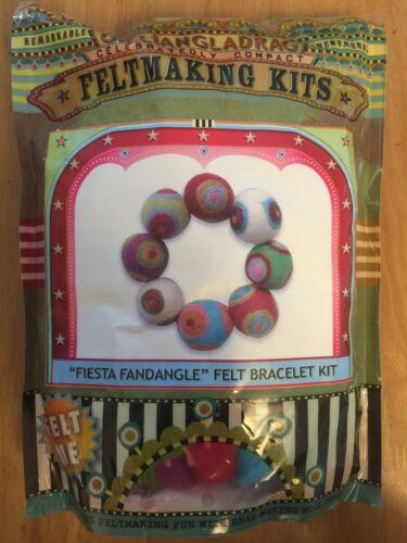 Fiesta Fandangle Feltmaking Kit Gilliangladrag Felt Bracelet Kit