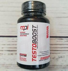 MPI Testoboost Testosterone Booster Supplement - EXP 10/19 60 Caplets 30 Serving eBay