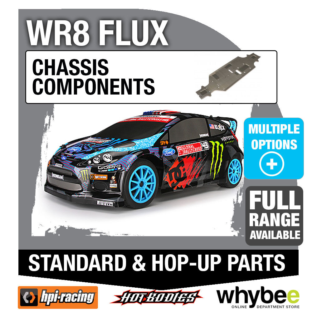 HPI WR8 FLUX FORD FIESTA [Chassis Components] Genuine HPi Racing R C Parts