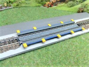 Gleisbremse-3-teiliges-Fertigmodell-aus-Resin-UNLACKIERT-NEUHEIT-Spur-N
