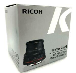 NEU Pentax HD Pentax DA 70mm f/2.4 Limited Objektiv (Schwarz) K Mount Pentax-DA