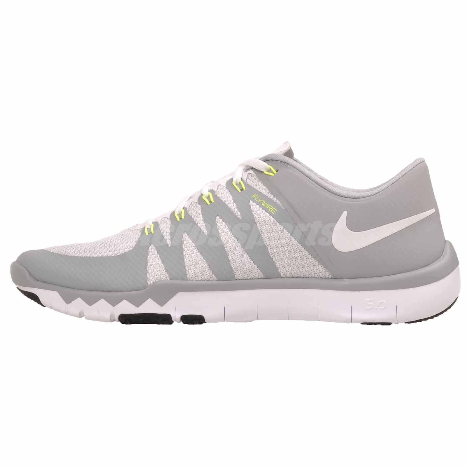 3510e38da514 Nike Trainer 5.0 V6 Mens 719922-100 Grey Athletic Training Shoes ...