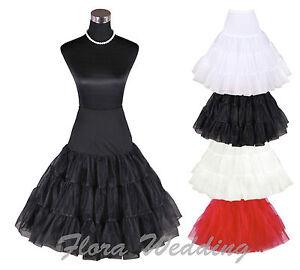 26-034-Retro-Underskirt-50s-Swing-Vintage-Petticoat-Fancy-Net-Skirt-Rockabilly-Tutu