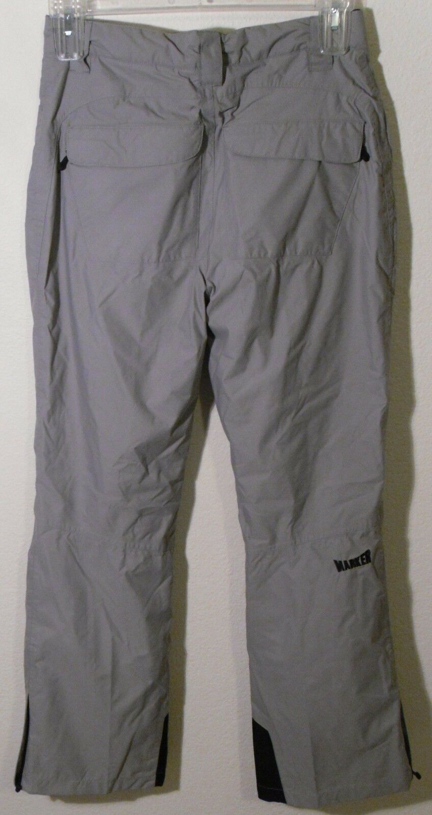 NWT Marker Pop 6 Damenschuhe Regular Rise Snowboard Ski Pants 6 Pop Grau MSRP139 3afa3a