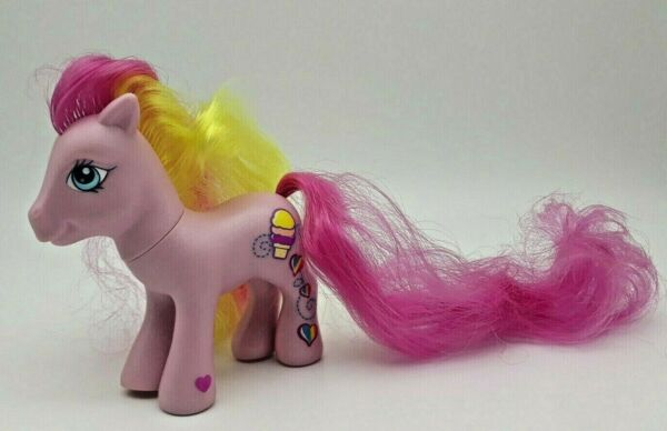 Inventif My Little Pony Mon Petit Poney Mlp Hasbro G3 2005 Rainbow Treat Pink