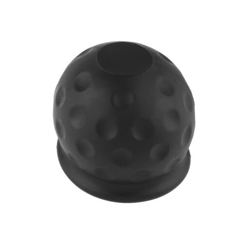 UK/_ UNIVERSAL 50MM TOW BALL COVER CAP TOWING HITCH CARAVAN TRAILER TOWBALL PROTE