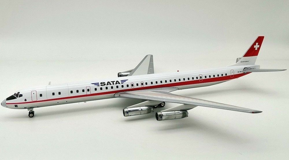 SATA DC-8-63 (HB-IDM), 1 200 Inflight200