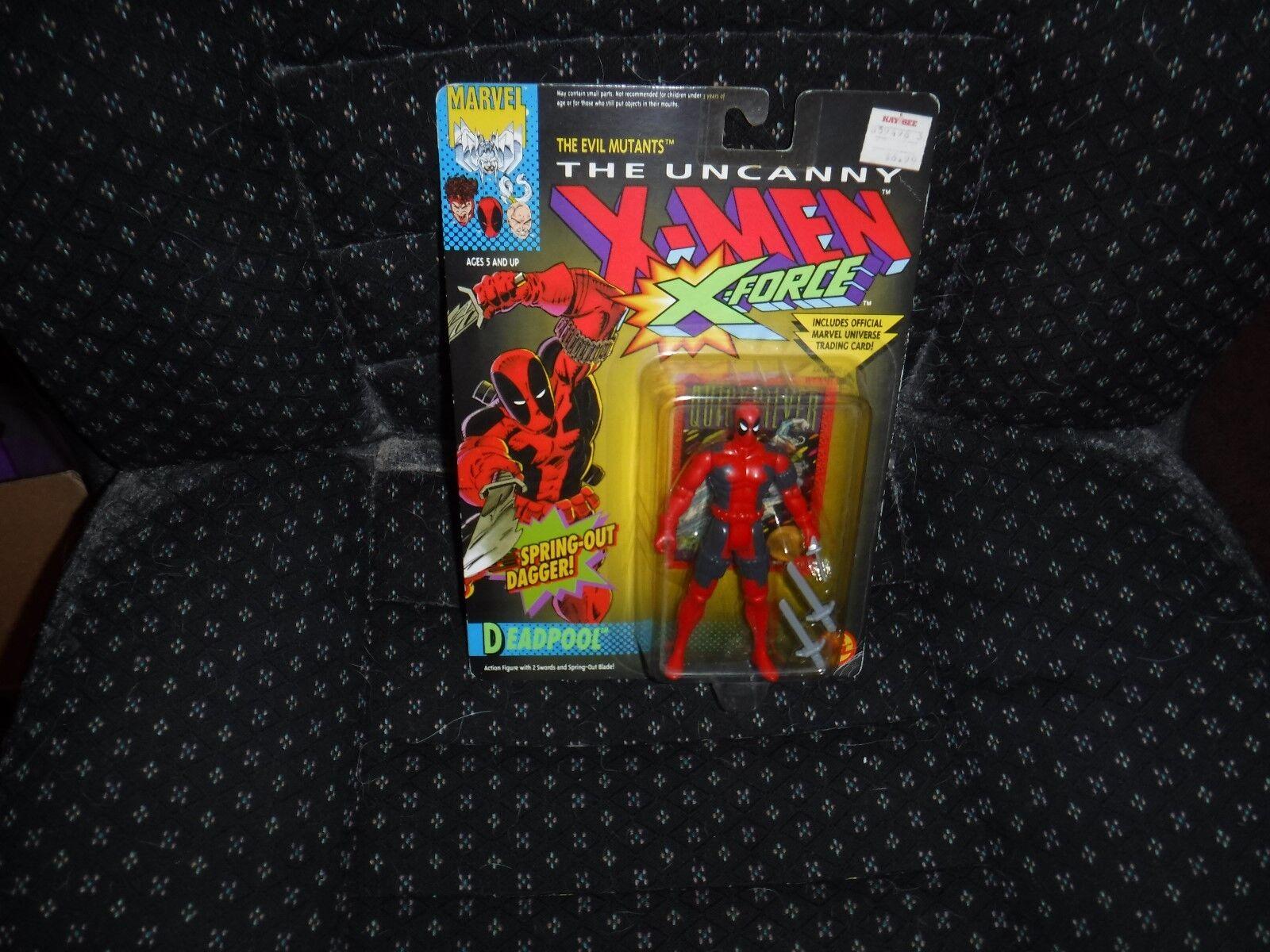 Fr deadpool actionfigur 1992 die unheimlichen x - men - x - force spielzeug - biz nib