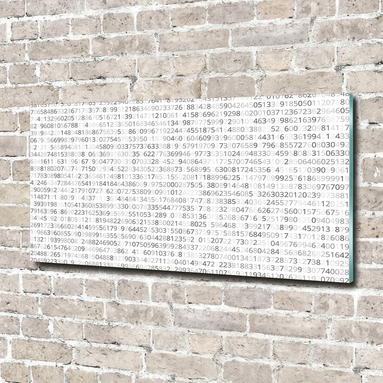 Glas-Bild Wandbilder Druck auf Glas 140x70 Deko Sonstige Binärcode