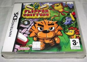 Flipper-Critters-Nintendo-DS-2DS-3DS-Game-Sealed