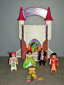 Chateau Princesse/Reine/Roi Playmobil 4777 - 4 PERSONNAGES | eBay