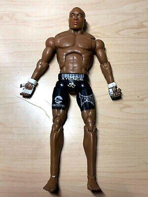 ANDERSON SILVA Jakks UFC Series 7 Action Figure MMA Pride Zuffa Spider