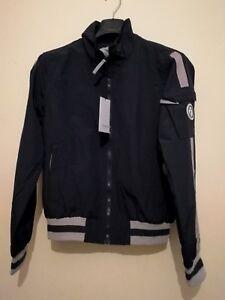 Navy Trussardi Windbreaker Carovilli New Jacket Size Collection Small xIrEqn4I