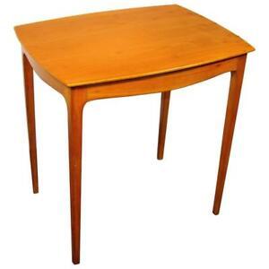 """""""travail Italien Vers 1940/1950, Table D'appoint En Placage Et Merisier Massif, Ehou3c8t-10042641-322401191"""
