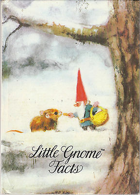 Little Gnome Facts by Rien Poortvliet and Wil Huygen Vintage Hardcover