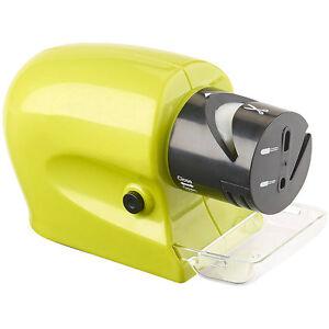 elektrischer messer werkzeugsch rfer mit extra feinem schleifstein ebay. Black Bedroom Furniture Sets. Home Design Ideas