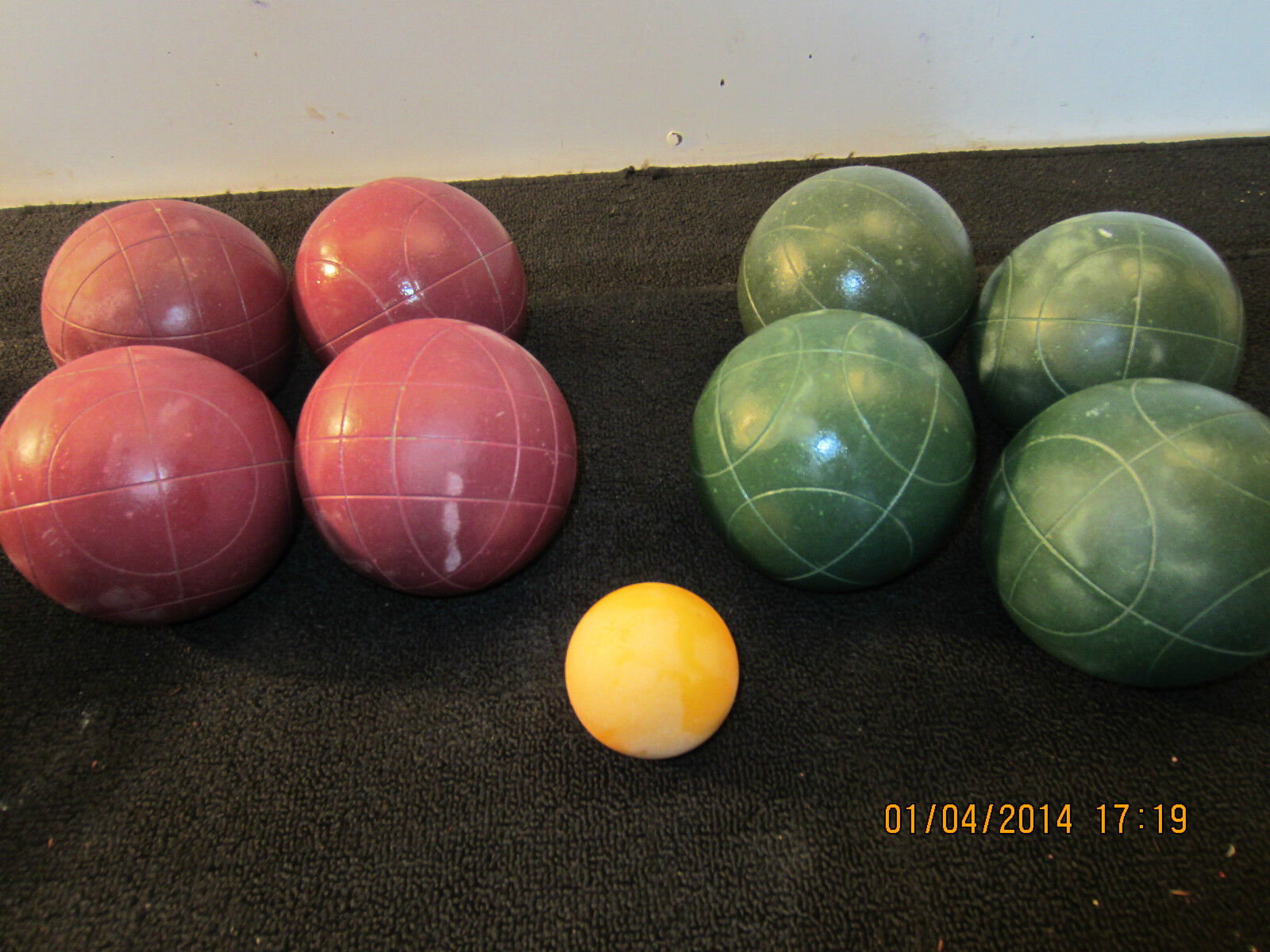 11 PC FRANKLIN CLASSIK SERIES, BOCCE BALL SET