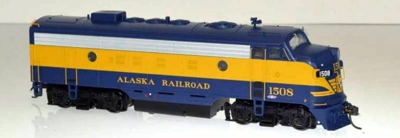 BOWSER 24047 HO Scale Alaska Railroad EMD F7A 1508 1970s with LOKSOUND DCC/SOUND