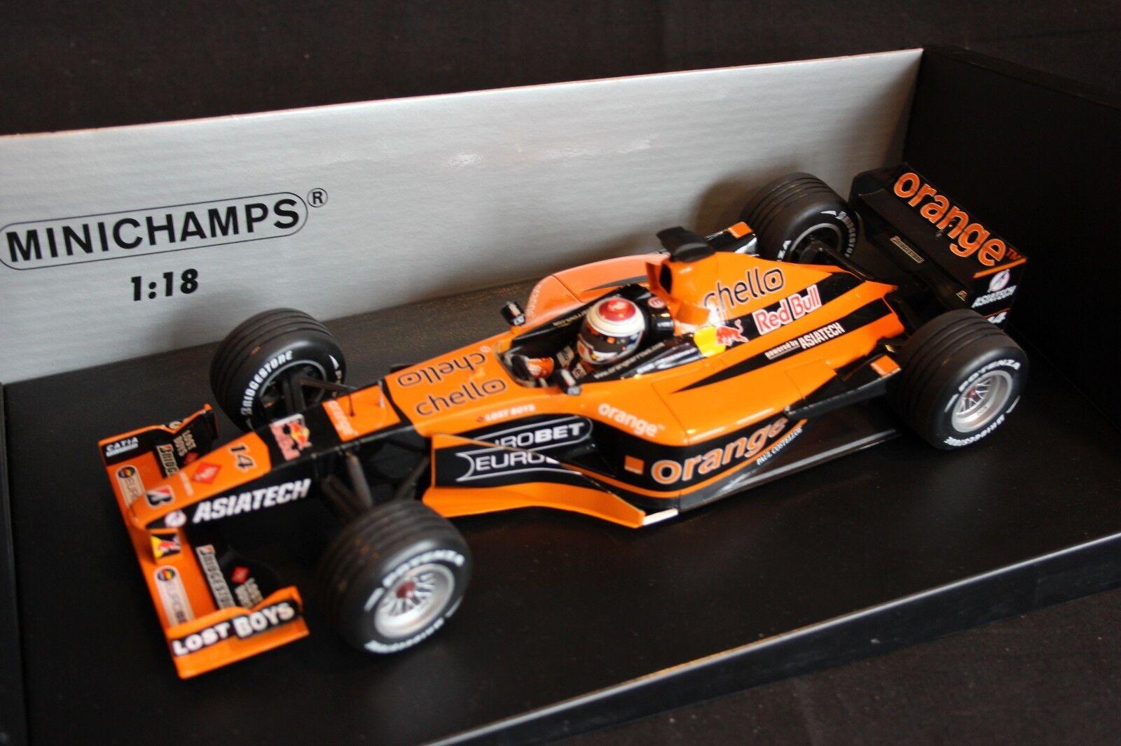 Minichamps arancia Arrows Asiatech A22 1 18  14 Jos Verstappen NED RG