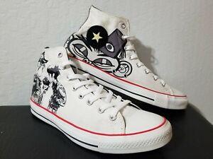 Acostumbrados a Especialista estafa  Los Gorillaz Converse All Star para hombres zapatos talla 11 2011 de alta  Tops raro de música | eBay