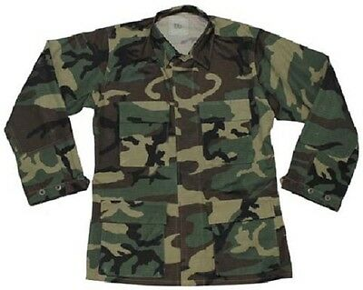 Franco Us Army Gi Bdu Campo Giacca Field Jacket Giacca Woodland Mimetico Medium X Short- 2019 Nuovo Stile Di Moda Online